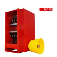 R-100/6 kés Mechanizmus