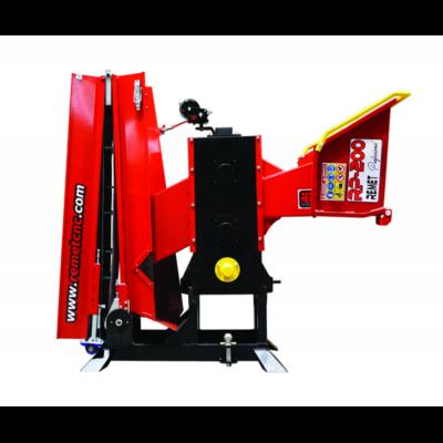 RP-200/6 késes ágaprító gép szalagal